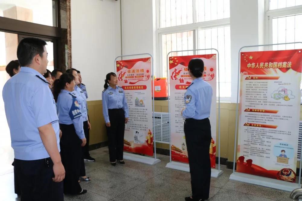 天水监狱开展6.9国际档案日宣传活动