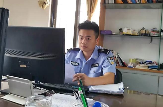 """杨松翔――一颗""""螺丝钉""""的坚守  侨警之声  昨天"""