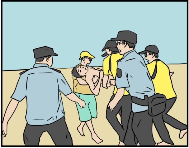 耐心看完这组漫画,让溺水悲剧不再发生......