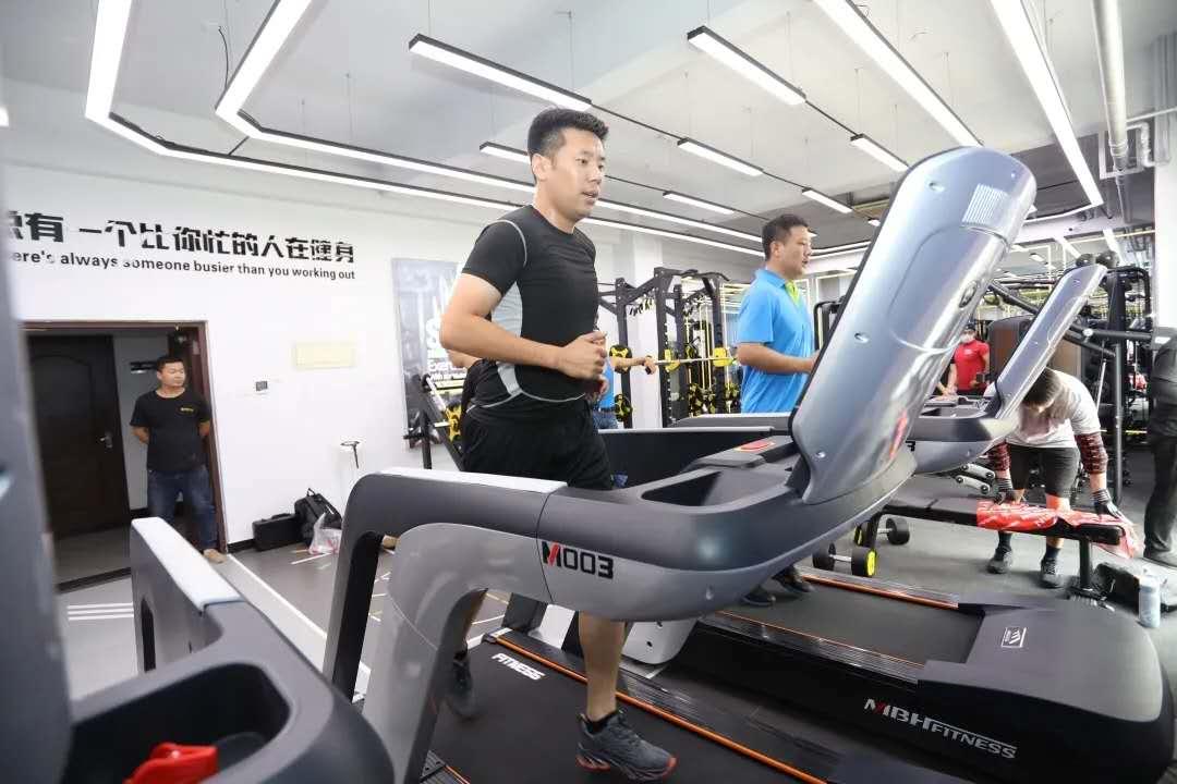 天津公安河北分局民警体能训练中心正式启动