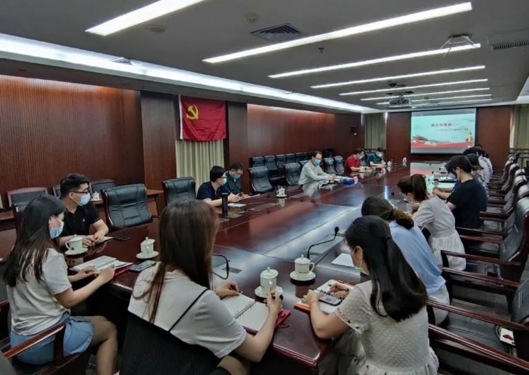 中国文联党组领导分赴有关单位 开展强化政治机关意识教育工作