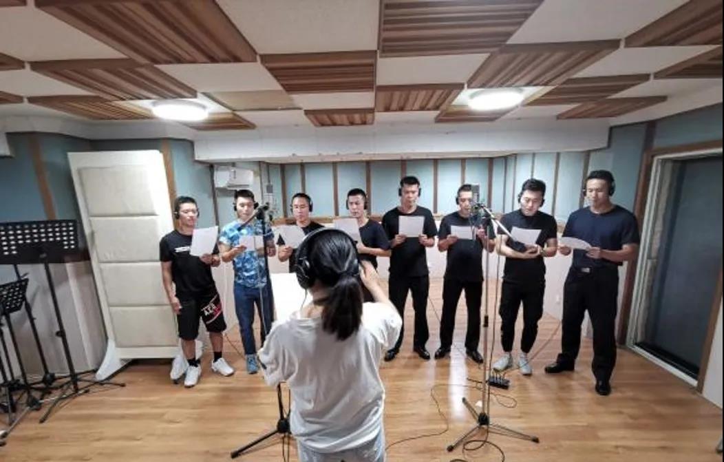 """以艺战""""疫""""聚力量 ――广州公安警营原创歌曲比赛正在进行"""