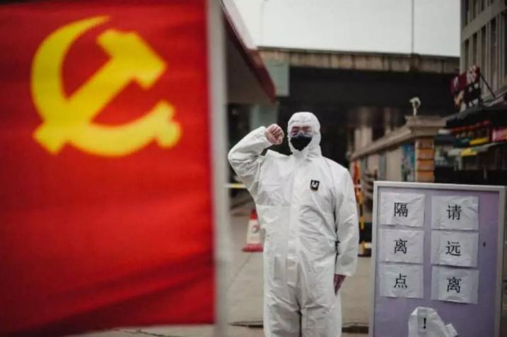 """""""我是党员我不退!"""" 武汉259支党员民警突击队冲锋在前"""